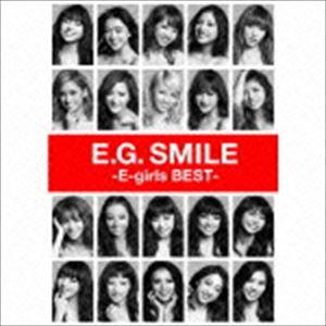 《送料無料》E-girls/E.G. SMILE -E-girls BEST-(2CD+3DVD+スマプラ)(CD)