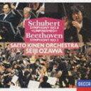 小澤征爾(cond)/シューベルト: 交響曲第8番 未完成 ベートーヴェン: 交響曲第2番、葬送行進曲(CD)