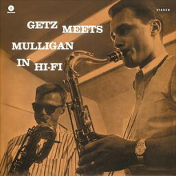 【輸入盤】STAN GETZ & GERRY MULLIGAN スタン・ゲッツ&ジェリー・マリガン/GETZ MEETS MULLIGAN IN HI-FI(CD)
