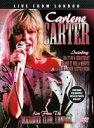 【輸入版】CARLENE CARTER カーリーン・カーター/LIVE FROM LONDON(DVD)