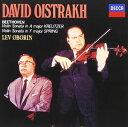 ダヴィッド・オイストラフ、オボーリン/ベートーヴェン:ヴァイオリン・ソナタ 第9番 クロイツェル、第5番 春(CD)