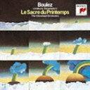 ピエール・ブーレーズ(cond)/BEST CLASSICS 100 (79) ストラヴィンスキー 春の祭典、ペトルーシュカ(CD)