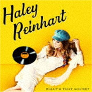 《送料無料》ヘイリー・ラインハート/ホワッツ・ザット・サウンド?(CD)