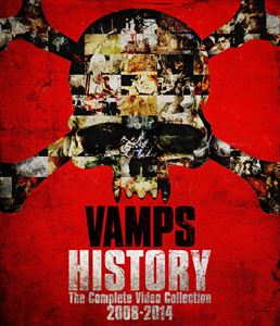 《送料無料》VAMPS/HISTORY-The Complete Video Collection 2008-2014(初回限定盤グッズ付)(Blu-ray)