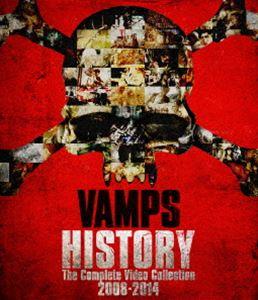 《送料無料》VAMPS/HISTORY-The Complete Video Collection 2008-2014(初回限定盤グッズ付)(Blu-ray)