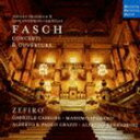 ゼフィロ/ドイツ・ハルモニア・ムンディ創立50周年記念リリース 16 ファッシュ 管楽のための協奏曲集&序曲(CD)
