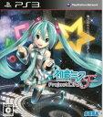 【中古】研磨済 追跡可 送料無料 PS3 初音ミク -Project DIVA- F