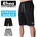 Rhea(レアー) トレーニングウェア フィットネス ストリートワークアウト ハーフパンツ スウェット ストレッチ【メンズ】rh-005
