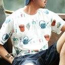 gym master(ジムマスター) G733303 ビッグペイント Tee|tシャツ|半袖|メンズ|レディース 覆面レスラー ガーデニング キノコ ハチド..