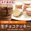バレンタイン 義理チョコとろける生チョコクッキー6個入「バレ...
