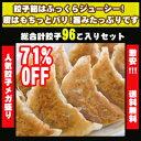 ◆700万個突破!!◆絶品!肉汁たっぷり黒豚餃子本餃子96個!約900g送料無料!!!!【特別ご招待】