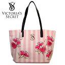 【送料無料】VICTORIA'S SECRET ヴィクトリアシークレット ビクシー バッグ トートバッグ 花柄バッグ 大きめ ロゴ フラワー