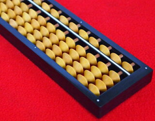 ■数量限定入荷!!播州小野ワンタッチそろばん4玉23桁ケース付最高級本柘植玉を使用!
