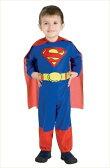 キッズ・スーパーマン 赤ちゃん用Infサイズ (Kids Superman Inf) [アメコミ ヒーロー スーパーマン コスプレ ハロウィン衣装 映画]【562329】【02P03Dec16】