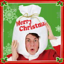 サンタ袋ヘッド  [クリスマス プレゼント袋型かぶりもの 帽子 サンタ パーティー]【_852278】