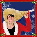 チキンかぶりもの  [かぶりもの 七面鳥 サンタコスプレグッズ クリスマス仮装 サンタクロース 仮装グッズ]【_852261】