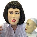 ブルゾンちえみ コスプレ 半面マスク キャリアウーマン(※カツラは付属していません) ブルゾン ちえみ モノマネ ものまね なりきり 仮装 イベント お笑い芸人 【C-0712_061565】