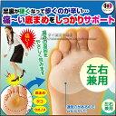 足裏パッド[足裏元気 いきカエル2個入]底まめ痛みを緩和♪うおのめ、底まめ、魚の目、タコ、底マメ、ヒールの滑り止め、足裏痛、ウオノメ、足裏のマメの、靴ズレ対策の靴 中敷です。2点以上で送料無料・あす楽対応商品です。