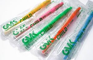 【送料無料】G.V.K モーニン・チャイルド 5色×各20本 合計100本セット プラス5本おまけ付き(j00019)