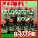 【岩津葱ねぎたまぽん酢】10本セット