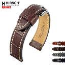 HIRSCH ヒルシュ KNIGHT(ナイト) 4色 腕時計ベルト カーフレザー アリゲータ型押 20mm/22mm/24mm/26mm/28mm