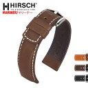 HIRSCH ヒルシュ MARINER(マリナー) 3色 腕時計ベルト 耐水性カーフレザー 18mm/20mm/22mm/24mm