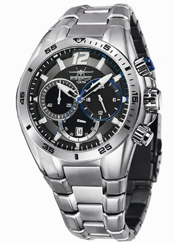 FIREFOX ファイヤーフォックス クォーツ 腕時計 メンズ  [12001021] 並行輸入品 メーカー国際保証24ヶ月 純正ケース付き メンズウォッチ 多機能 腕時計/夜行表示/防水機能 防水時計/クロノグラフ ストップウォッチ