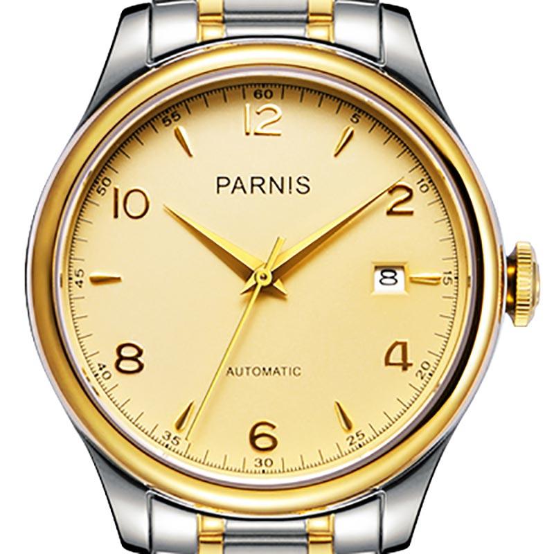 【NEW】PARNIS パーニス クォーツ 腕時計 メンズ [H2113-S3AS-GDSG] 並行輸入品 メーカー保証【新生活応援】 メンズウォッチ 海外 ブランド 腕時計 自動巻き 機械式
