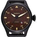 【NEW】PARNIS パーニス クォーツ 腕時計 メンズ [PA2106-S3AL-BKBKw] 並行輸入品 メーカー保証