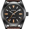 【NEW】PARNIS パーニス クォーツ 腕時計 メンズ [PA2107-S3AL-BKDB] 並行輸入品 メーカー保証