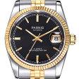 【NEW】PARNIS パーニス クォーツ 腕時計 メンズ [PA2112-S3AS-BKSG] 並行輸入品 メーカー保証 10P29Aug16