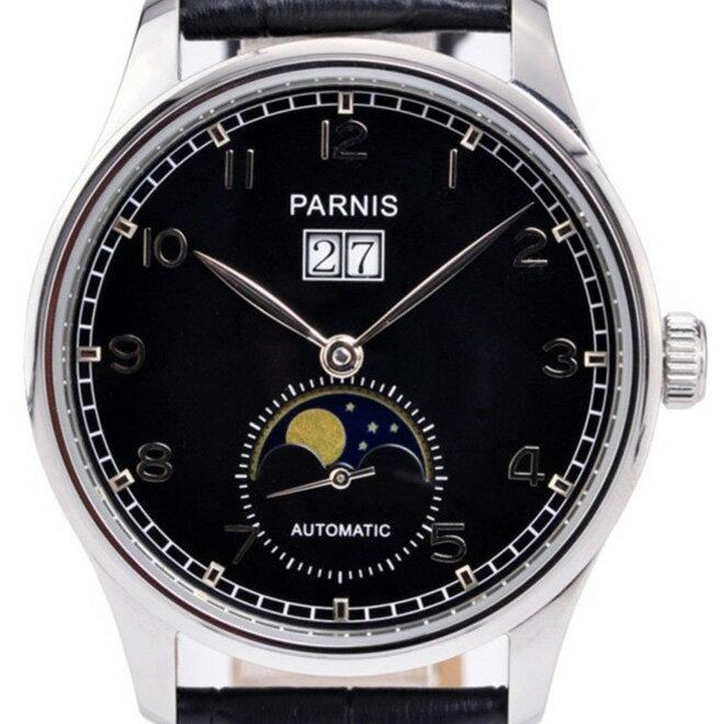 PARNIS パーニス 自動巻き 腕時計 メンズ [PN-122S3AL] 並行輸入品 当店保証24ヵ月 メンズウォッチ 海外 ブランド 腕時計/カレンダー デイト