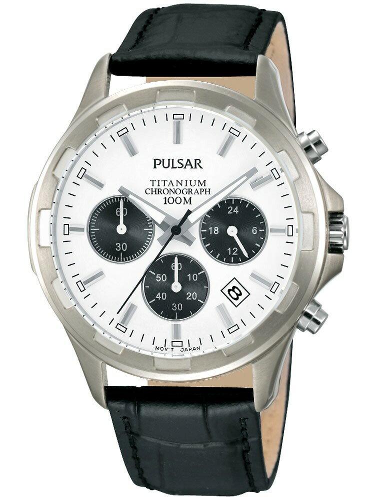 Pulsar パルサー クォーツ 腕時計 メンズ [PT3219X1] 並行輸入品 純正ケース付き メンズウォッチ 多機能 ブランド 腕時計/防水機能 防水時計/クロノグラフ ストップウォッチ