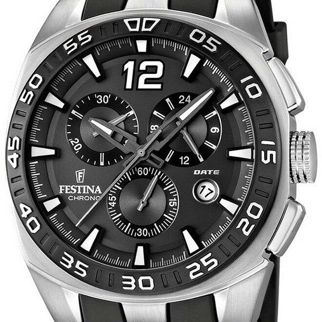 FESTINA フェスティナ クォーツ 腕時計 メンズ スポーツウォッチ [F16668-5] 並行輸入品  メーカー国際保証24ヶ月 メンズウォッチ 多機能 腕時計/ベゼル/クロノグラフ ストップウォッチ