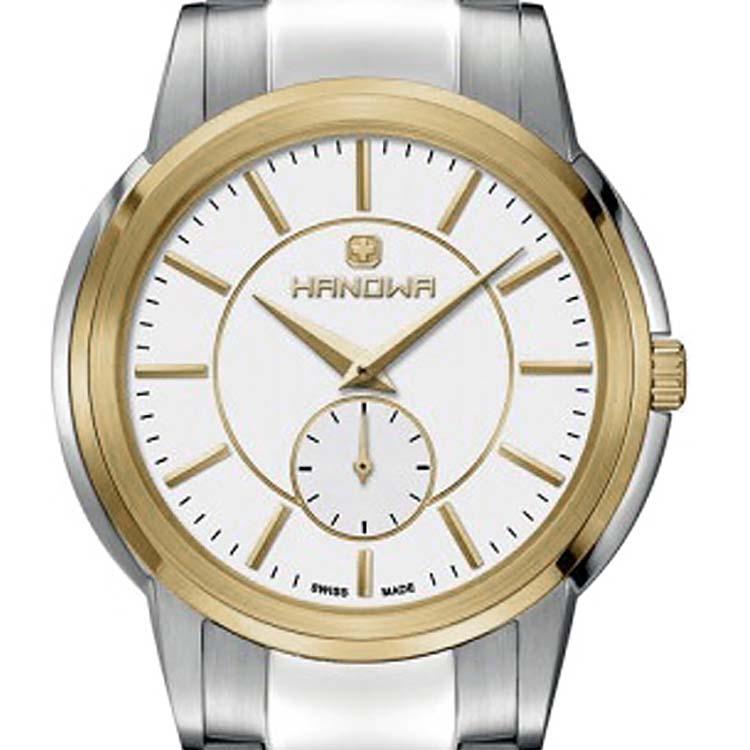 HANOWA ハノワ クォーツ 腕時計 スイス シンプル ファッション [16-5038.04.007] 並行輸入品 純正ケース メーカー保証 ウォッチ スイス 海外 輸入時計 腕時計/防水機能 防水時計