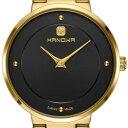 【残り1点】HANOWA ハノワ クォーツ 腕時計 スイス シンプル ファッション [16-7046.02.007] 並行輸入品 純正ケース メーカー保証