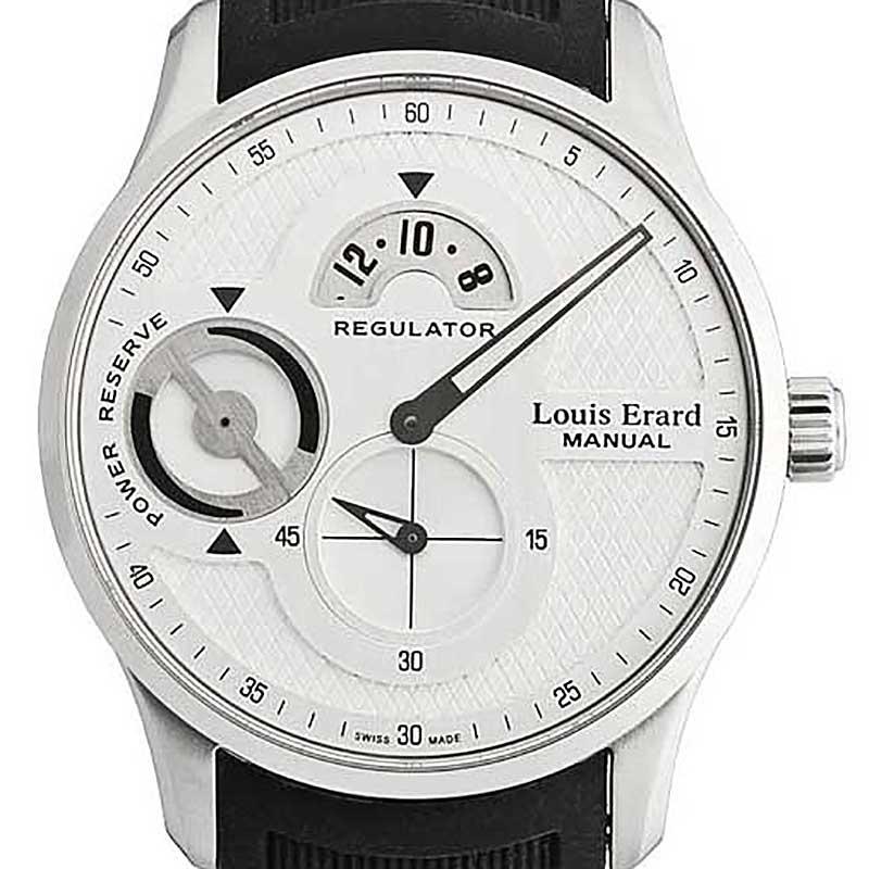 Louis Erard ルイ・エラール 手巻き 腕時計 メンズ エレガント スイス SWISS MADE [54209AS11BDE03 ] 並行輸入品 純正ケース メーカー保証 メンズウォッチ 海外 輸入時計 腕時計/防水機能 防水時計/パワーリザーブ