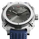 MAURON MUSY モーロン・ミュジー 自動巻き 腕時計 [MU01-202-BlueLeather] 並行輸入品 デイト