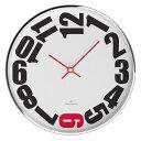 Oliver Hemming オリバーヘミング 壁掛け時計 インテリア 北欧 Simplex シンプレックス 300mm [W300S20WR] 正規品