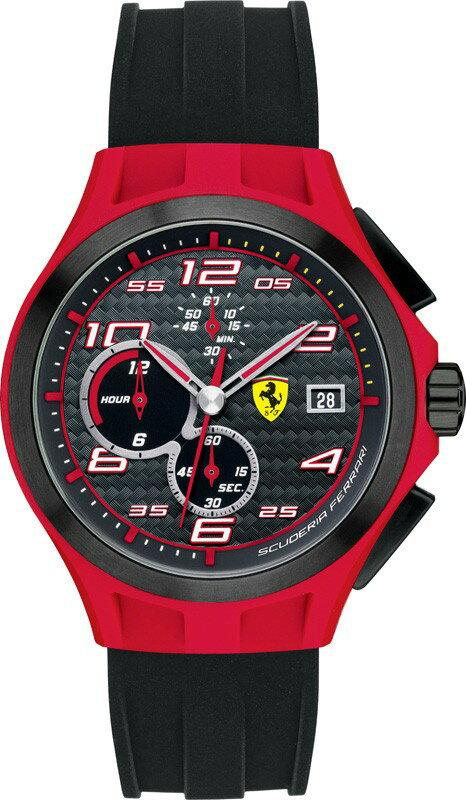 Ferrari フェラーリ クォーツ 腕時計 メンズ スポーツウォッチ [SF830017] 並行輸入品 メーカー国際保証24ヵ月 純正ケース付き メンズウォッチ 多機能 スーパーカー 腕時計/クロノグラフ ストップウォッチ/カレンダー デイト