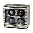 ウォッチワインダー ワインディングマシーン ROTHENSCHILD/ローテンシルト 収納本数:4本 [ RS-2303-ZBR ] 並行輸入品 10P27May16
