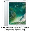 Apple iPad Pro 10.5インチ Wi-Fi 64GB MQDW2J/A [シ