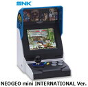 SNK NEOGEO mini INTERNATIONAL Ver.ゲーム機 単体 新品