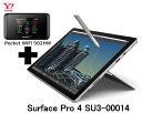 【ワイモバイル】 LTE マイクロソフト Surface Pro 4 SU3-00014 + 502HW Pocket WiFiプラン2 バリューセット タブレット セット Windows10 ウィンドウズ10 Office新品【送料無料】【Wi-Fi】Y!mobile【回線セット販売】A