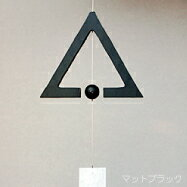 Noh made wind chimes go Rin triangular wind-bell