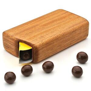 テレビで話題!木製チョコボールケース【はなまるマーケットチョコボールお菓子ケースハンドメイド木マホガニーウッド雑貨バレンタインプレゼントLIFESWEETD】