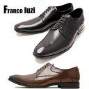 メンズ ビジネスシューズ 紳士靴 プレーントウ 本革 ブランド セール フランコルッチ FRANCO LUZI 2750 ブラック ブラウン 父の日 プレゼント ギフト 就職祝