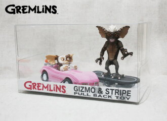 [Gremlins] pull back toy car / Gizmo&Stripe