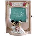 【ディズニー・ミッキーマウス】ウェディング・フォトフレーム「ミッキーマウス&ミニーマウス」/写真立て/写真たて/フォトスタンド【RCP】【楽ギフ_包装】 Disney