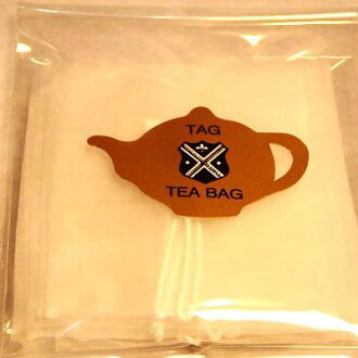 Tea tea leaves for tagged mesh bag Pack of 10